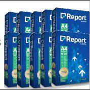 Caixa c/ 10 Pacotes - Papel Sulfite Report Premium A4 75 g/m² 210X297mm Branco