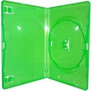 Caixa para DVD Padrão Transparente e Colorida Para  1  Disco - 1 Und.