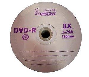 Midia  Dvd-r Smartbuy Roxa 8x 4.7 gb 120min 50 Uni .