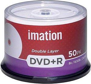 Midia Dl 8x 8.5gb 240min Imation Printable 50 Uni