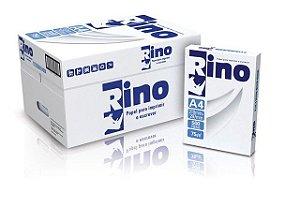 Papel Sulfite RINO A4 75 g/m² 210 X 297mm Branco - Caixa c/ 10 Pacotes
