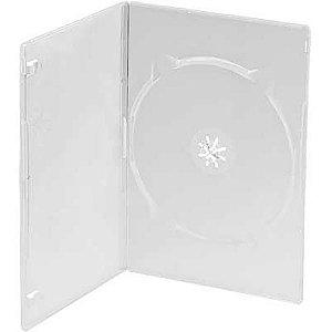 Capa para DVD slim Simples - Cx c/ 200 Unidades