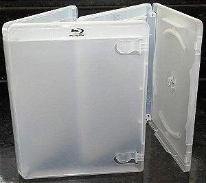 Capa para DVD BlueRay Transparente - Cx c/ 50 Unidades