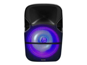 Caixa de Som Amplificada Trolley 150W (RMS) - 12 Pol - LED RGB - BT/USB/SD/FM/P2 - Multilaser - SP259