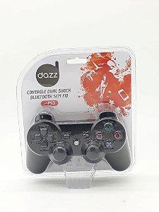 Controle Dual Shock PS3 - Bluetooth - Sem Fio - Dazz - 62112-1