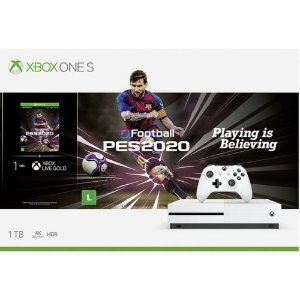 Console Xbox One S 1tb + Pes2020