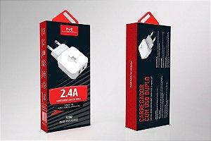 Carregador Com Usb Duplo 2.4a 12w Maketech - A2202