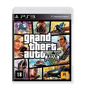Jogo Grand Theft Auto V - GTA5 para PS3 - Mídia Física Lacrado