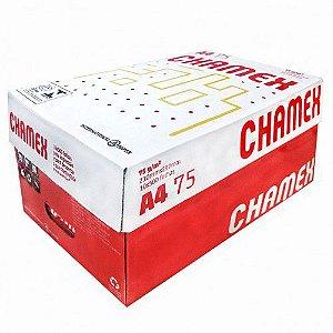 Caixa c/ 10 Pacotes - Papel Sulfite CHAMEX A4 75 g/m² 210 X 297mm Branco