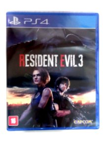 Resident Evil 3 para PS4 - Mídia Física