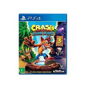 Jogo Crash Bandicoot N-sane Trilogy para PS4