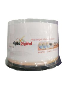 Mídia DVD+R 8.5GB 8X Dual Layer Printable - Opto Digital - 50 Unidades
