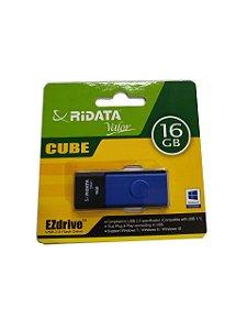 Pen Drive 16GB retrátil USB 2.0 Ridata