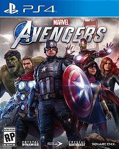 Jogo Avengers PS4