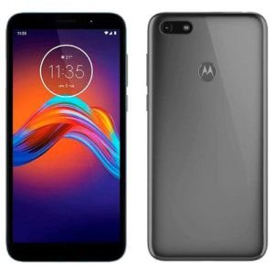 Smartphone Motorola E6 Play Cinza Metálico