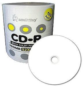 CD-R Printable smartbuy pct 100 unidades
