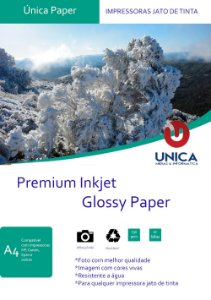 Papel Fotográfico Premium Glossy 230g 20fls