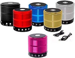Mini Caixa De Som Bluetooth Portátil Grasep D-BH887