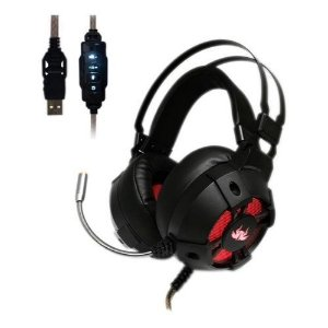 Headset Fone Gamer Knup Kp-446 Extreme 7.1 Usb Pc Ps3 Ps4