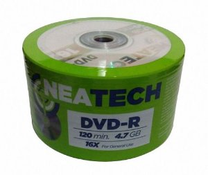 DVD-R Neatech com logo 4.7GB 16x