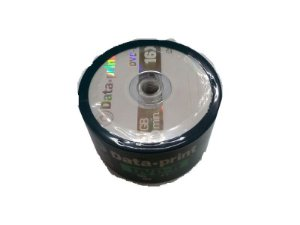 DVD-R 4.7GB 16x Data Print com Logo 120min