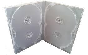 Caixinha para DVD Quádruplo