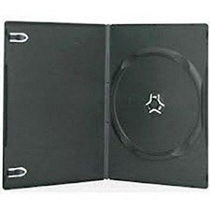 Box para DVD Padrão Preto