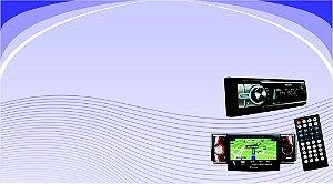 Cartões de Visita - Acessórios Automotivos 15 - 48x88mm Couchê - 250g - 4x0 Verniz Total Frente