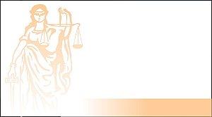 Cartões de Visita - Advocacia 02 - 48x88mm Couchê - 250g - 4x0 Verniz Total Frente