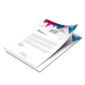 Papel Timbrado - 210x297mm - Sulfite 90g - Colorido 4x0