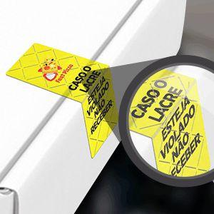 Adesivos Lacre de Segurança - 35x100mm
