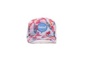 BONÉ TRUCKER - SUNSET FLORAL