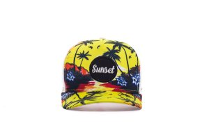 BONÉ TRUCKER - SUNSET TROPICAL