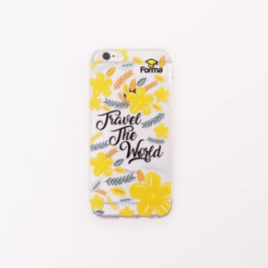 CAPINHA PARA CELULAR - TRAVEL THE WORLD
