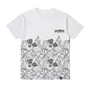 Camiseta Floral Branca