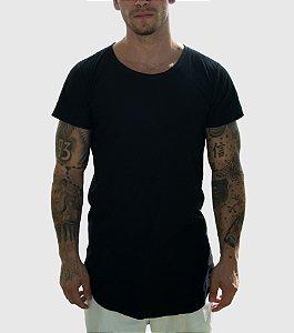 Camiseta LongLine  3D Clothing Preta