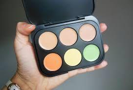 Paleta Corretivos Light 6 Cores Bh Cosmetics