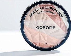 Multicolor Powder Ultra Glam - Iluminador 3 em 1 Océane