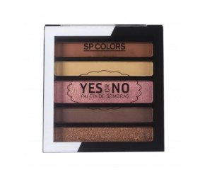 Paleta de Sombras 5 Cores Yes or No - SP Colors