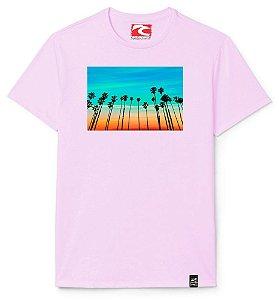 Camiseta Santo Swell Coconut Palms in California Estampada Manga Curta 5 Cores