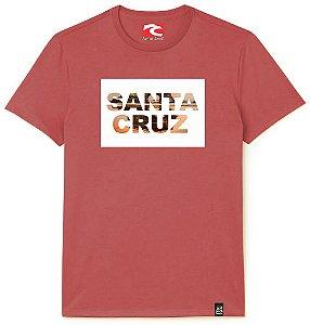 Camiseta Santo Swell California Original City Estampada Manga Curta 3 Cores