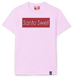 Camiseta Santo Swell Writing on Board Estampada Manga Curta 5 Cores