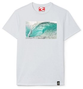 Camiseta Santo Swell Best Surfing Wave in the Sea Estampada Manga Curta 4 Cores