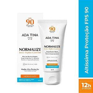 Protetor Solar Ada Tina Normalize Hydra Comfort FPS 90