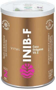 Vital Inib F - Óleo de Coco - 120 cápsulas - Vital Atman