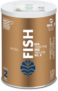 Vital Fish - Ômega 3 Concentrado EPA DHA - 120 Cápsulas - Vital Atman