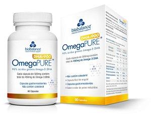 OmegaPure DHA 900 Nutrição Cerebral Omega Pure Biobalance