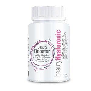 Beauty Hyaluronic - Suplemento Alimentar de ácido hialurônico, vitaminas e minerais - 30 Cápsulas 1000 Mg