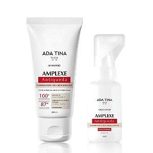 Kit Tratamento Antiqueda Amplexe Shampoo e Loção