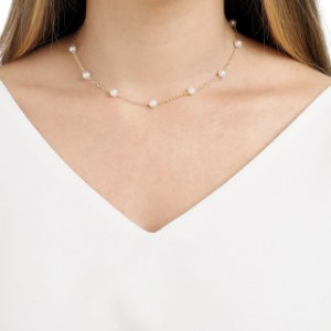 Chocker com pérolas